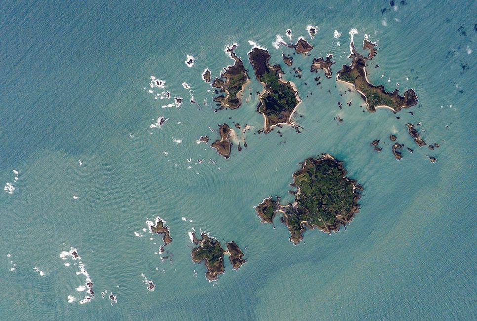 Insulele Scilly Hartaeuropa